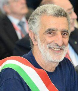 Il sindaco di Messina, Renato Accorinti in una foto di archivio ANSA/ CIRO FUSCO